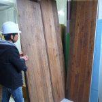 旗の台の集合住宅 / 自動ドア製作