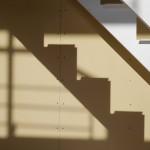 裾野の家 / 鉄骨階段