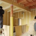 裾野の家 / 塗装下地工事