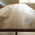 湯河原の別荘 / テーブルの天板