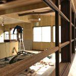 木造オフィス改修 / 塗装工事