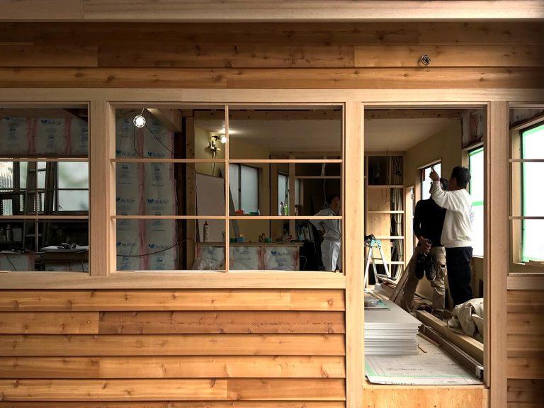 木造オフィス改修1