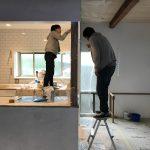 ダーニングハウス / 施主塗装1