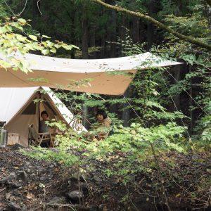 お泊まりキャンプ