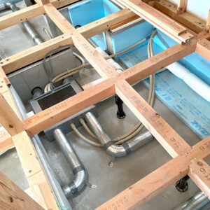 イロハモミジの家/ 床下暖房レガレット